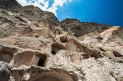 Estructura antigua de la roca. Fotografía de archivo libre de regalías