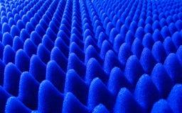 Estructura azul de la esponja Foto de archivo libre de regalías