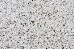 Estructura blanca del granito que destella en una piedra trabajada Fotos de archivo