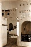 Estructura blanca retra en Egipto Foto de archivo libre de regalías