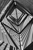 Estructura blanco y negro Foto de archivo libre de regalías