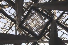 Estructura caótica Textura geométrica angular abstracta Fotografía de archivo libre de regalías