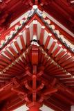 Estructura china del templo Imagen de archivo libre de regalías