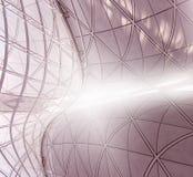 Estructura curvada Fotografía de archivo