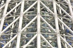 Estructura de acero Imagen de archivo libre de regalías