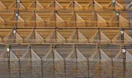 Estructura de acero Fotografía de archivo