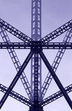 Estructura de acero Imágenes de archivo libres de regalías