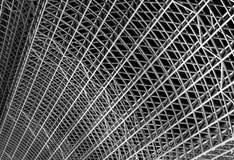 Estructura de acero de la azotea Imágenes de archivo libres de regalías