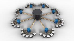 estructura de base de datos 3D