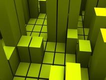 Estructura de bloque Imagen de archivo libre de regalías