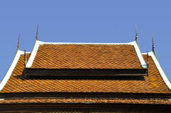 Estructura de Buda de la iglesia del tejado Fotografía de archivo
