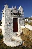 Estructura de edificio, Mykonos. Fotografía de archivo libre de regalías