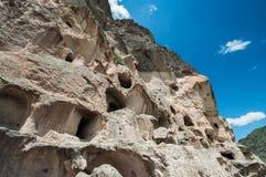 Estructura de la arquitectura del corte de la roca - arte antiguo. Imágenes de archivo libres de regalías