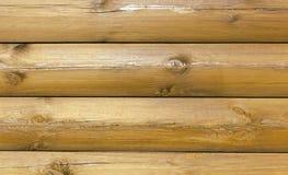 Estructura de la cabaña de madera Fotos de archivo libres de regalías