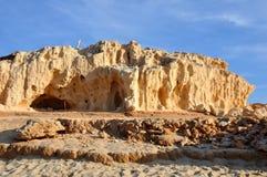 Estructura de la cueva Imagenes de archivo