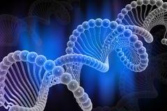 Estructura de la DNA Imagen de archivo libre de regalías