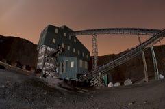 Estructura de la mina Fotografía de archivo