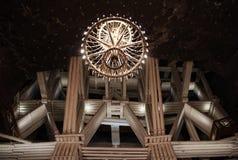 Estructura de la mina Fotografía de archivo libre de regalías