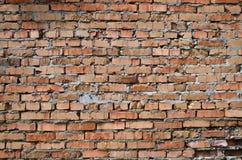 Estructura de la pared de ladrillo vieja Foto de archivo
