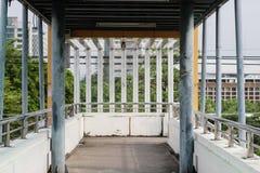 Estructura de la pasarela Fotografía de archivo libre de regalías