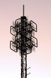Estructura de la torre del teléfono celular Foto de archivo libre de regalías