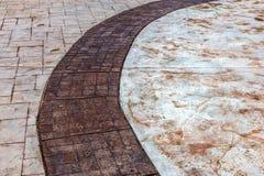 Estructura de las piedras de pavimentación en el muelle de las arenas de oro, Bulg Imagenes de archivo