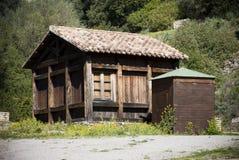 Estructura de madera Foto de archivo
