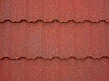Estructura de tejado coloreada del asfalto 1 Imágenes de archivo libres de regalías
