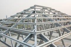Estructura de tejado del metal Imagen de archivo libre de regalías