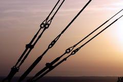Estructura del alambre eléctrico Foto de archivo libre de regalías