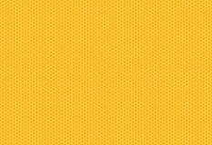 Estructura del hexágono en el fondo amarillo Vector del EPS 10 ilustración del vector