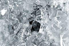 Estructura del hielo fotos de archivo