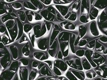 Estructura del hueso del metal imagenes de archivo