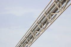 Estructura del marco de acero para el fondo Fotos de archivo