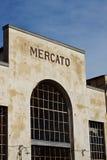 Estructura del mercado Fotografía de archivo