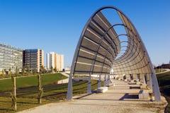 Estructura del metal del parque Imagenes de archivo