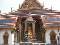 Estructura del palacio en palacio del gran en Bangkok Foto de archivo libre de regalías