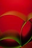 Estructura del papel coloreado del extracto en fondo rojo foto de archivo