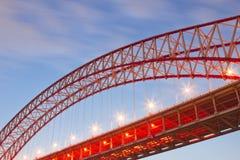 Estructura del puente imagen de archivo libre de regalías