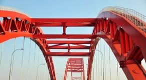Estructura del puente Fotografía de archivo
