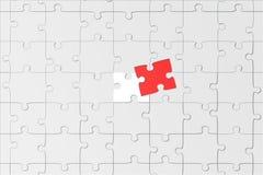 Estructura del rompecabezas Imágenes de archivo libres de regalías