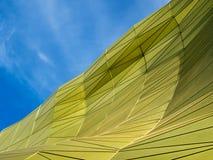 Estructura futurista geométrica abstracta Foto de archivo libre de regalías