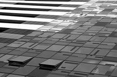 Estructura futurista moderna Imágenes de archivo libres de regalías