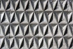 Estructura geométrica de la pared Fotografía de archivo