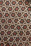 Estructura geométrica del khatam. Fotografía de archivo