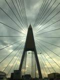 Estructura grande del puente Fotos de archivo