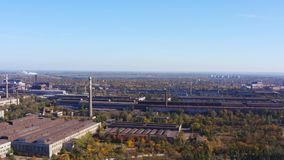 Estructura la empresa industrial Contaminación ambiental almacen de metraje de vídeo