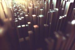 Estructura metálica del fondo abstracto libre illustration