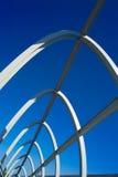 Estructura moderna del puente Imagen de archivo