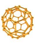 Estructura molecular Foto de archivo libre de regalías